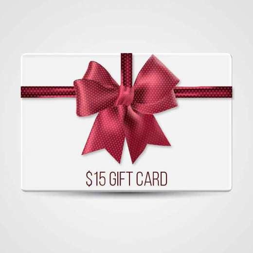 GROOV3 $15 Gift Certificate