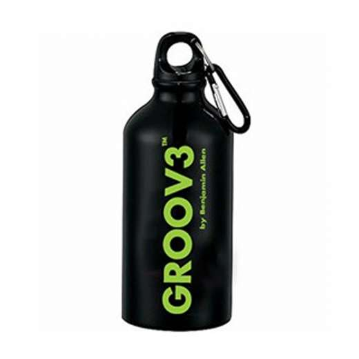 GROOV3 17oz. Aluminum Water Bottle