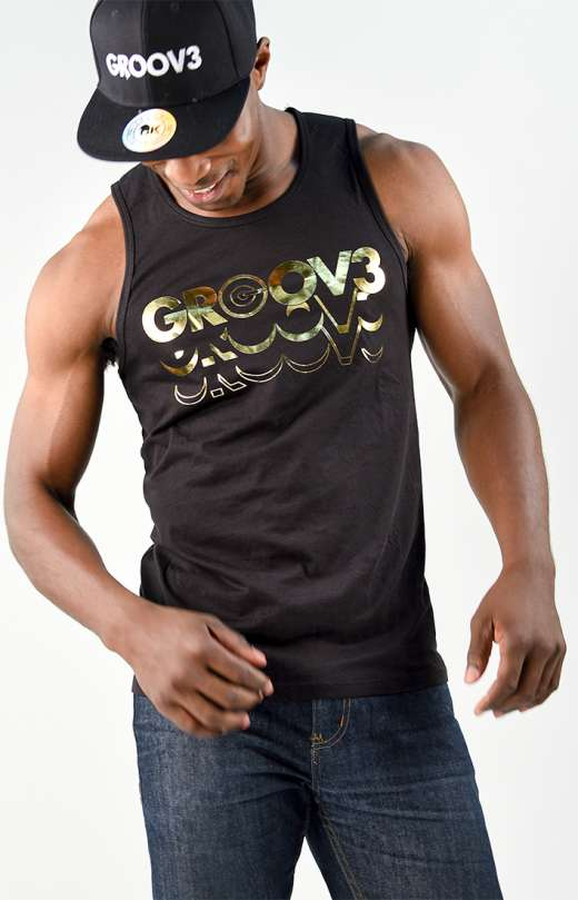 GROOV3 Gold Tanks (Mens)