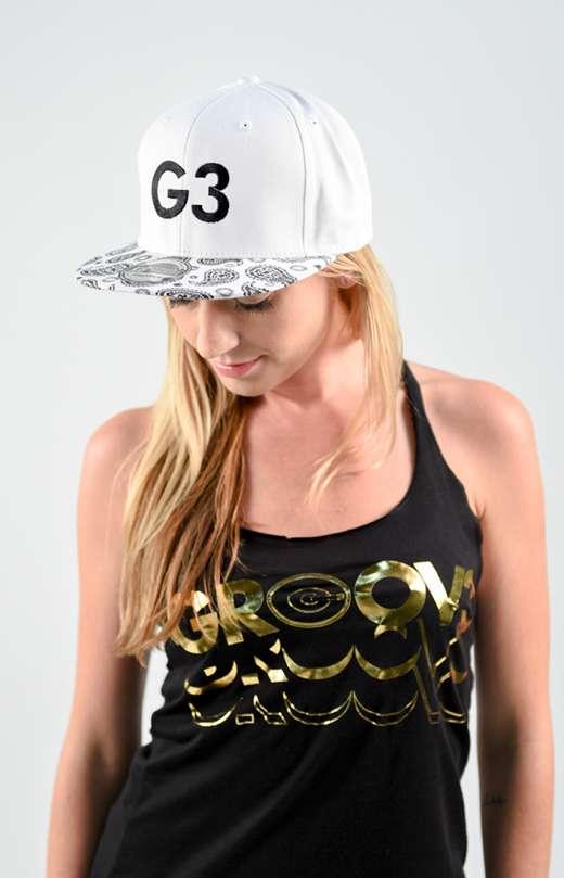 Classic G3 Paisley White Snapback