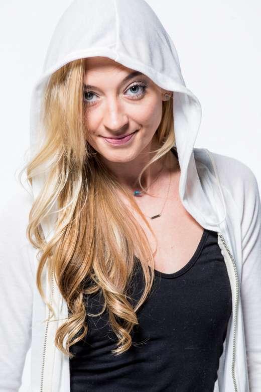 Women's White or Black Zip-Up Hoodie by All Seasons by GROOV3