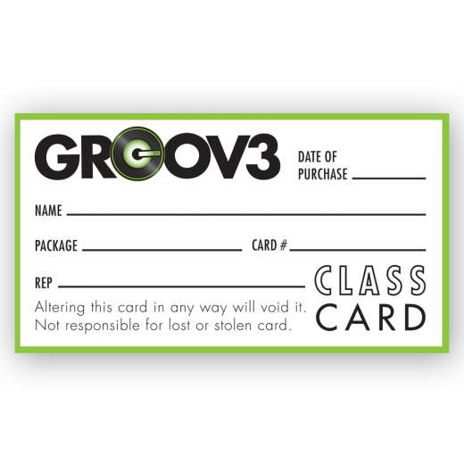 5-Class Card (Available in Los Angeles)