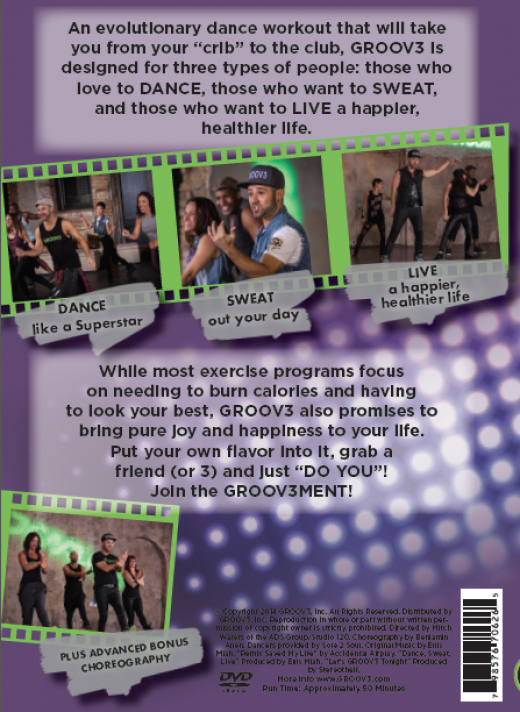 GROOV3 DVD Dance Sweat Live