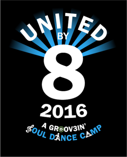 United By 8 Dance Camp for Adults GROOV3 Dance it out