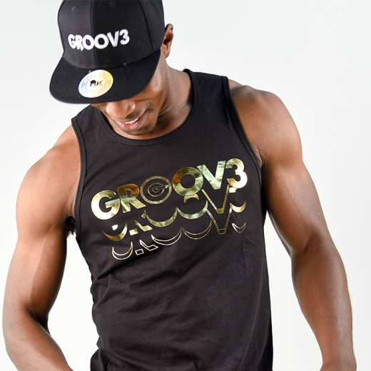 GROOV3 Gold Tanks (Mens)