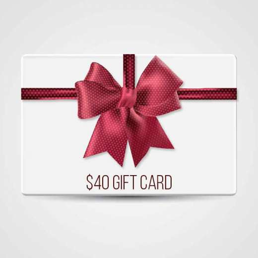 $40 Gift Certificate