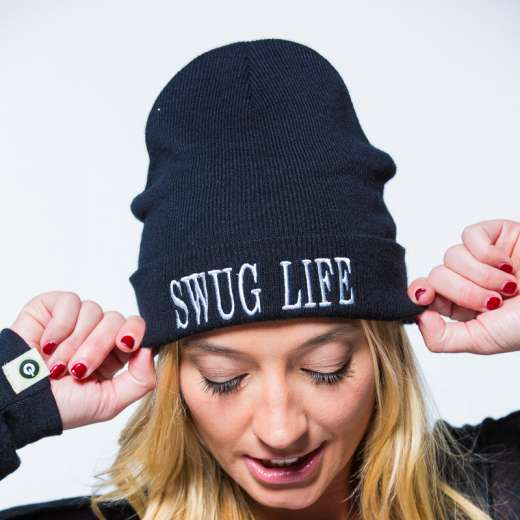 Unisex all seasons GROOV3 Beanie Swug Life