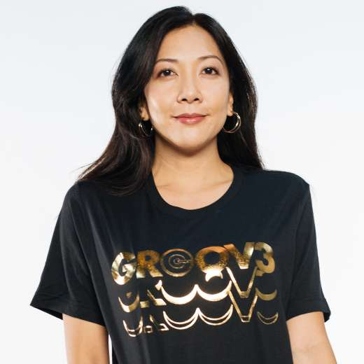 Gold Tile Graphic Tee